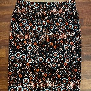 2X LuLaRoe Cassie skirt never worn